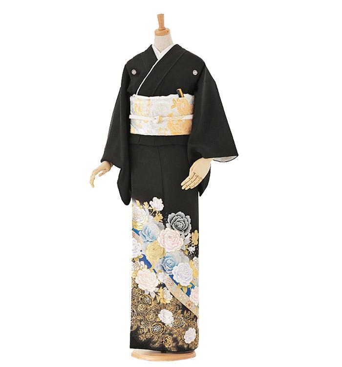 黒留袖 No.CA-0041-Lサイズ