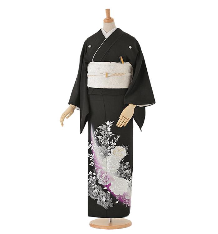 黒留袖 No.CA-0043-Lサイズ