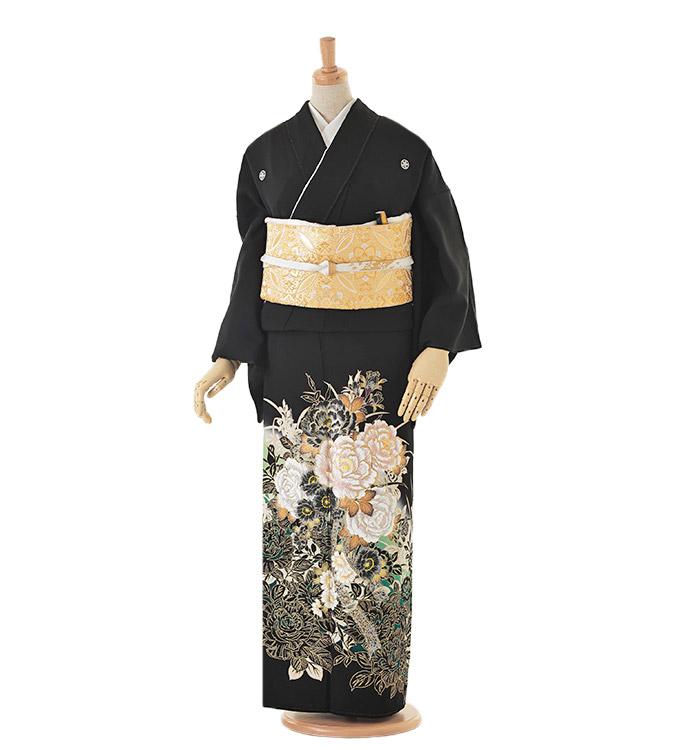 黒留袖 No.CA-0048-Mサイズ