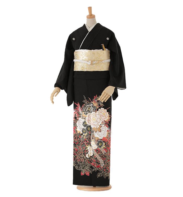 黒留袖 No.CA-0049-Lサイズ
