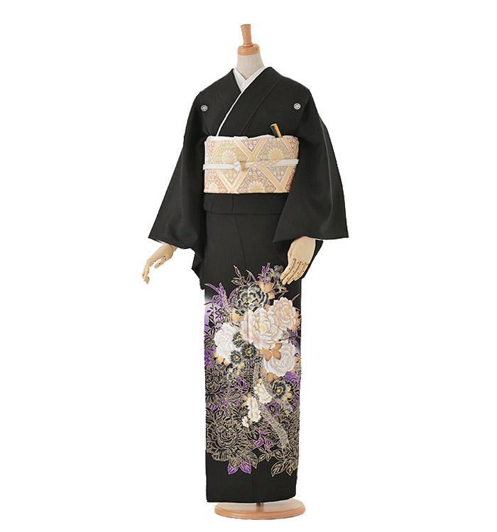 黒留袖 No.CA-0050-Lサイズ