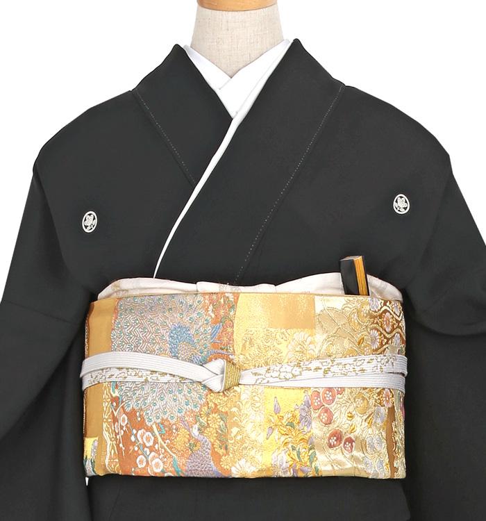 スワトウ刺繍 黒留袖 No.CA-0051-Lサイズ_01
