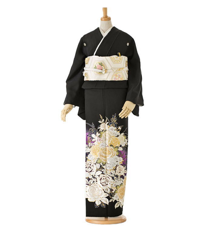 黒留袖 No.CA-0052-Lサイズ