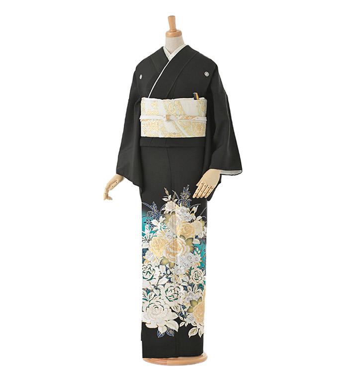 黒留袖 No.CA-0053-Lサイズ