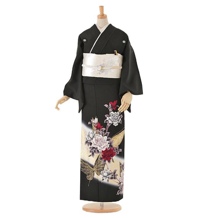 黒留袖 No.CA-0055-Lサイズ