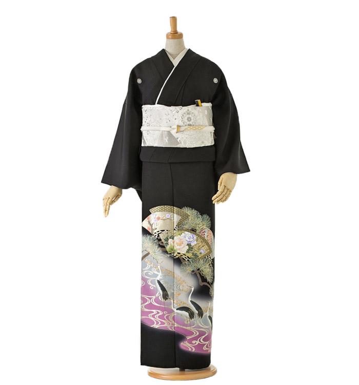 黒留袖 No.CA-0059-Lサイズ