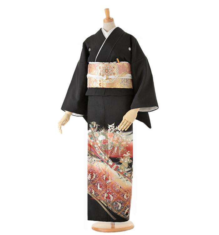 黒留袖 No.CA-0064-Lサイズ