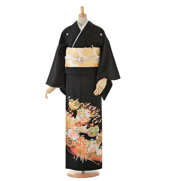 黒留袖 No.CA-0068-Lサイズ