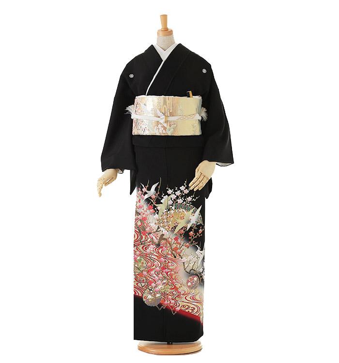 黒留袖 No.CA-0070-Lサイズ