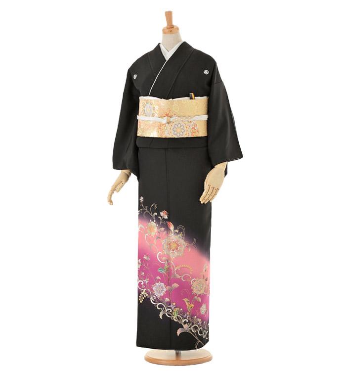 黒留袖 No.CA-0074-Sサイズ