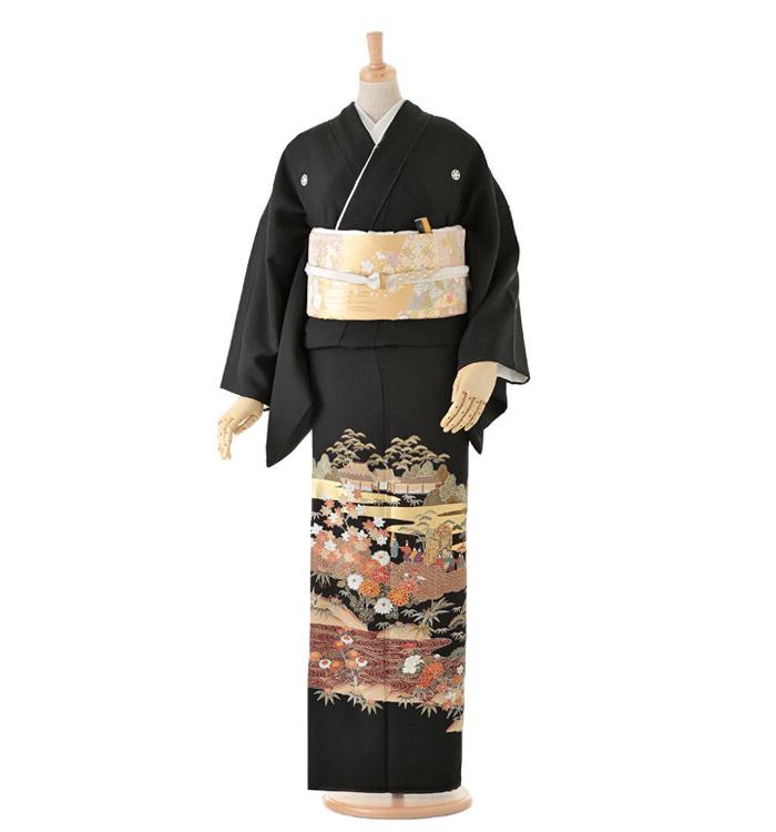 黒留袖 No.CA-0077-Lサイズ