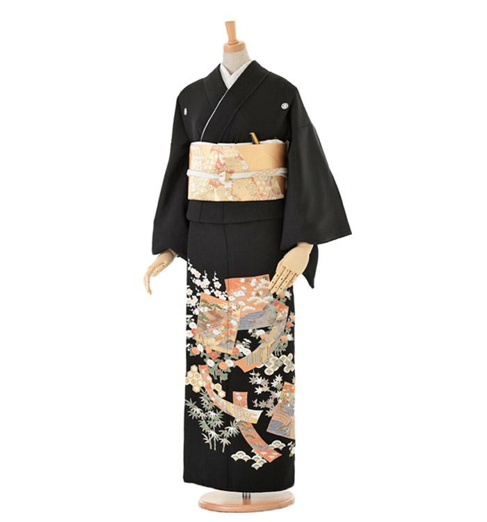 黒留袖 No.CA-0082-Lサイズ