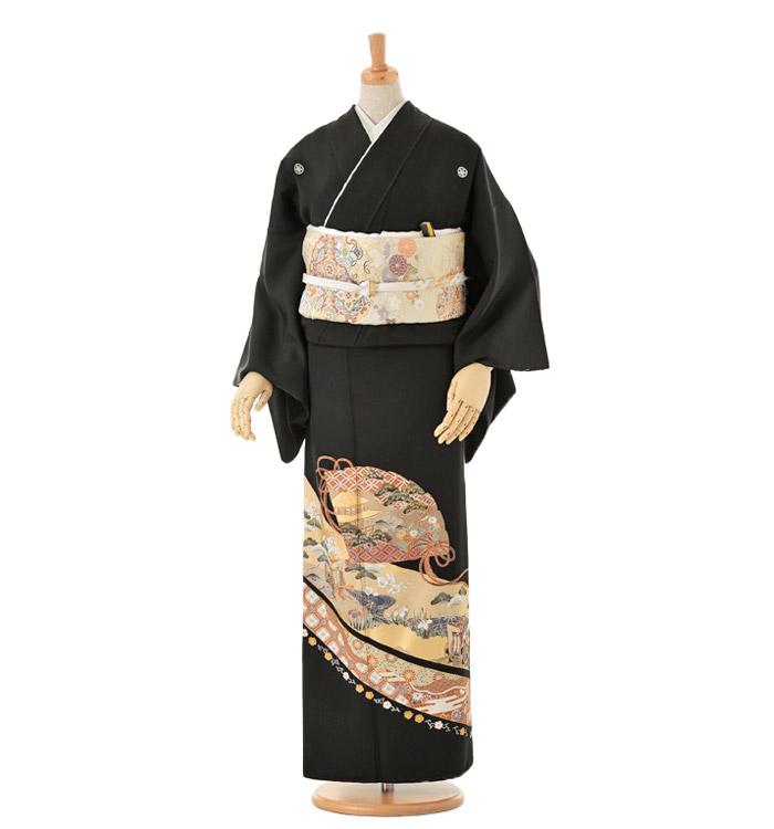 黒留袖 No.CA-0083-Mサイズ