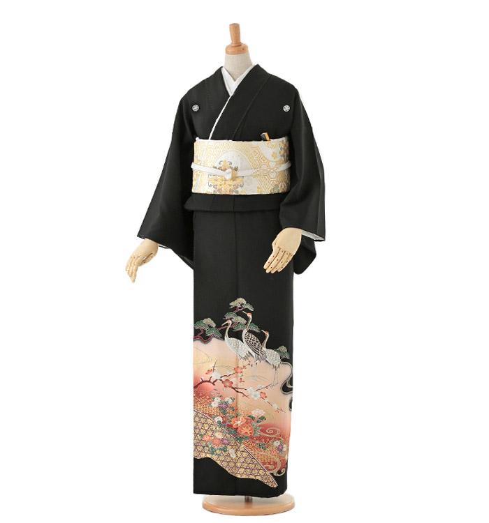 黒留袖 No.CA-0084-Lサイズ