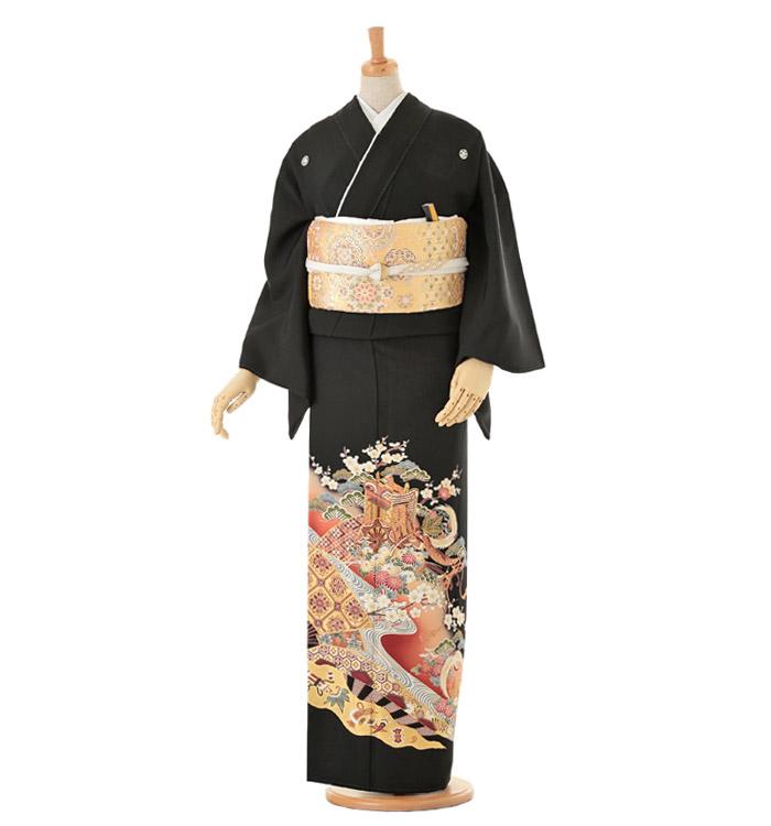黒留袖 No.CA-0087-Lサイズ