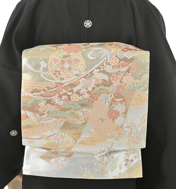 本加賀友禅 黒留袖 No.CA-0102-Mサイズ_02