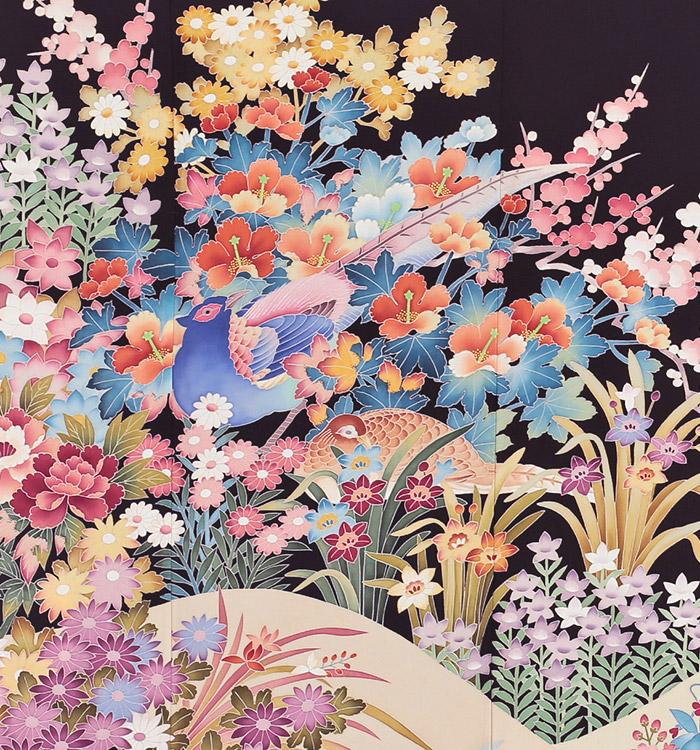本加賀友禅 黒留袖 No.CA-0106-Mサイズ_05