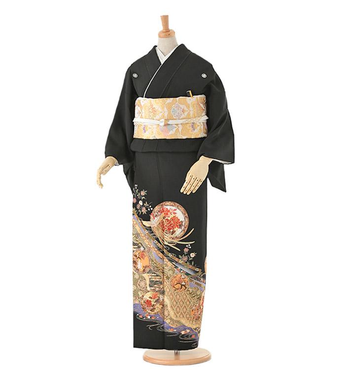 Kansai 黒留袖 No.CA-0110-Mサイズ
