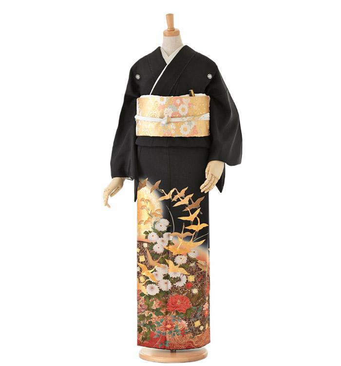 Kansai 黒留袖 No.CA-0112-Mサイズ