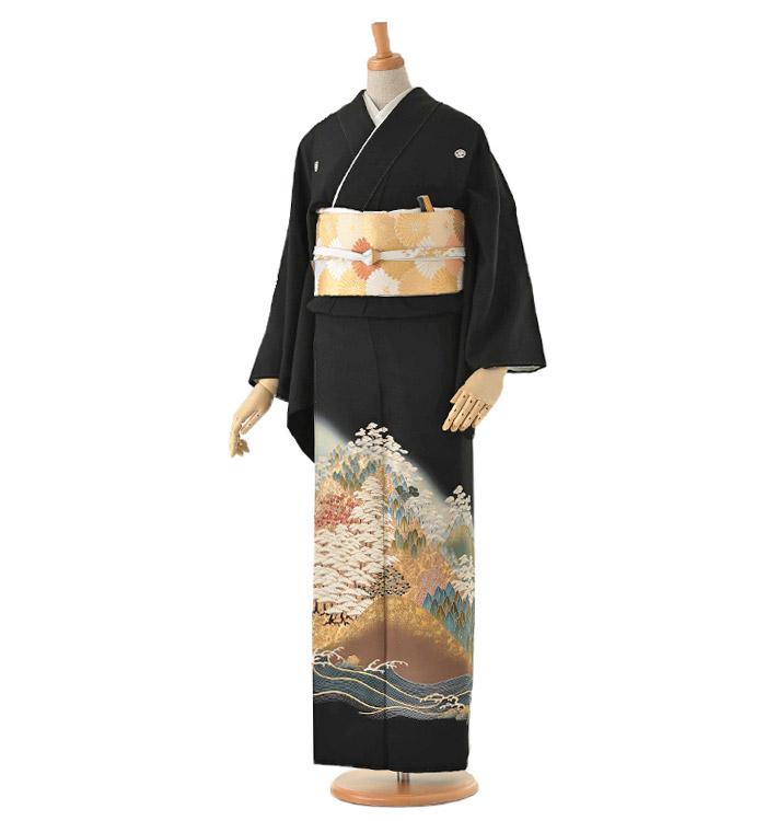 黒留袖 No.CA-0114-Mサイズ
