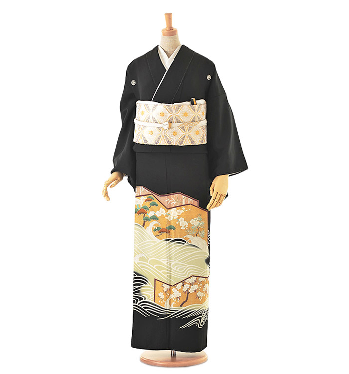 黒留袖 No.CA-0124-Mサイズ