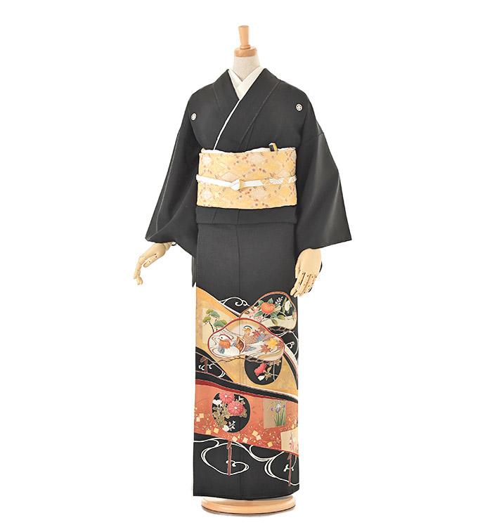 黒留袖 No.CA-0126-Lサイズ