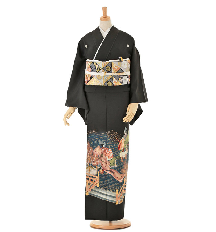 黒留袖 No.CA-0127-Mサイズ