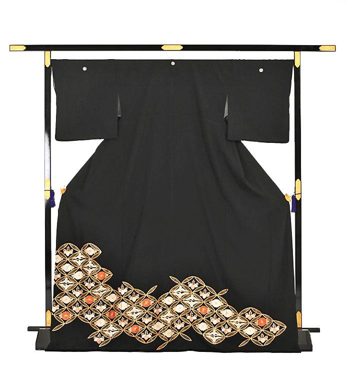 総刺繍 黒留袖 No.CA-0128-Lサイズ_03