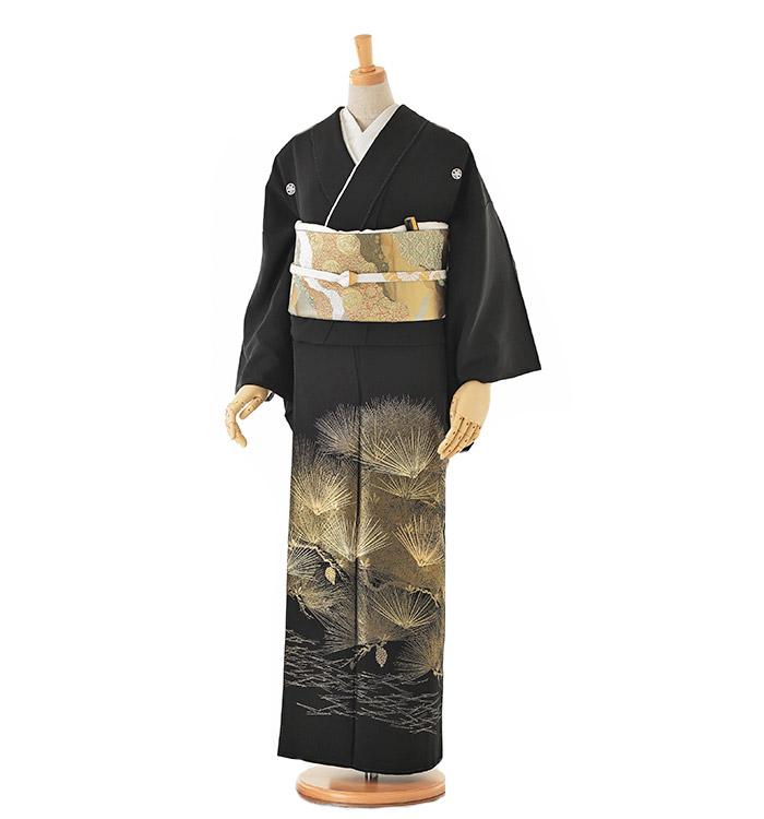 山口美術織物 黒留袖 No.CA-0131-Mサイズ