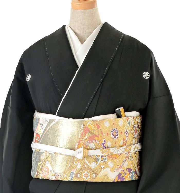 大きいサイズ 黒留袖 No.CA-0134-LOサイズ_01