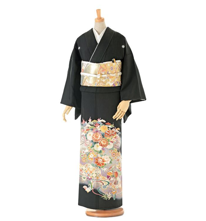 大きいサイズ 黒留袖 No.CA-0134-LOサイズ