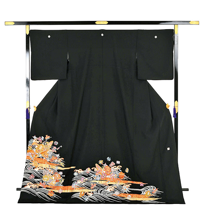 大きいサイズ 黒留袖 No.CA-0135-LOサイズ_03