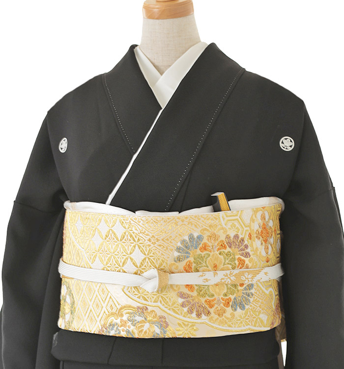 大きいサイズ 黒留袖 No.CA-0136-MOサイズ_01