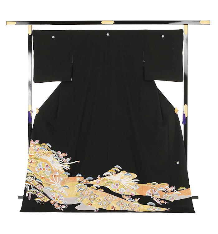 大きいサイズ 黒留袖 No.CA-0140-LOサイズ_03