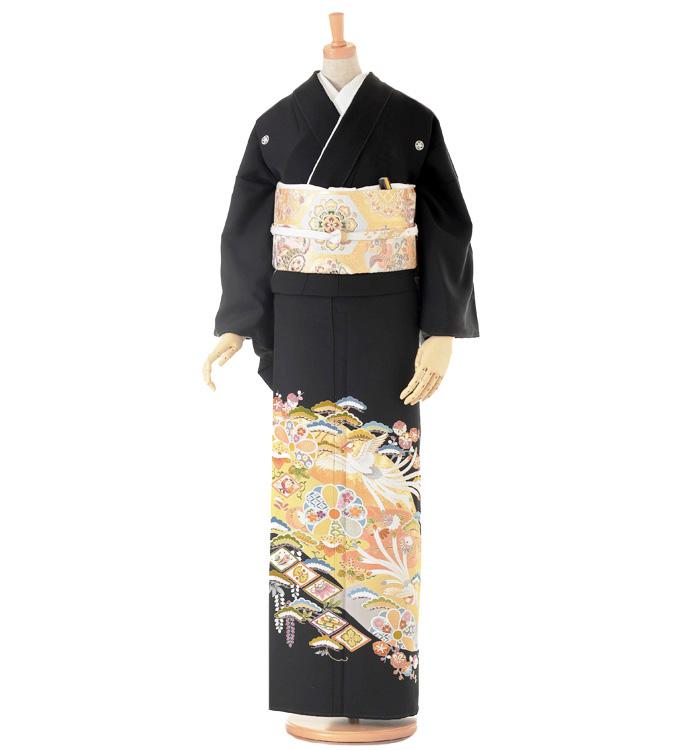 大きいサイズ 黒留袖 No.CA-0140-LOサイズ