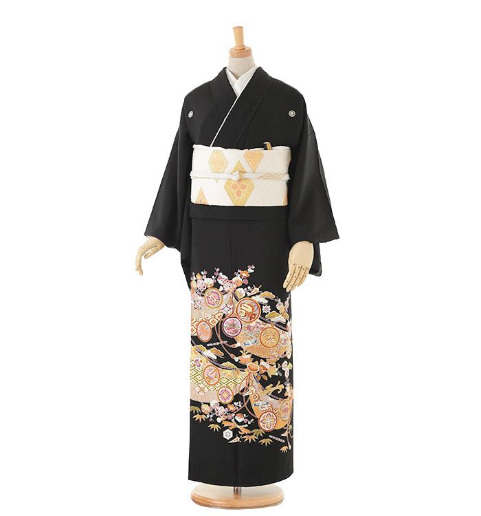大きいサイズ 黒留袖 No.CA-0141-MOサイズ