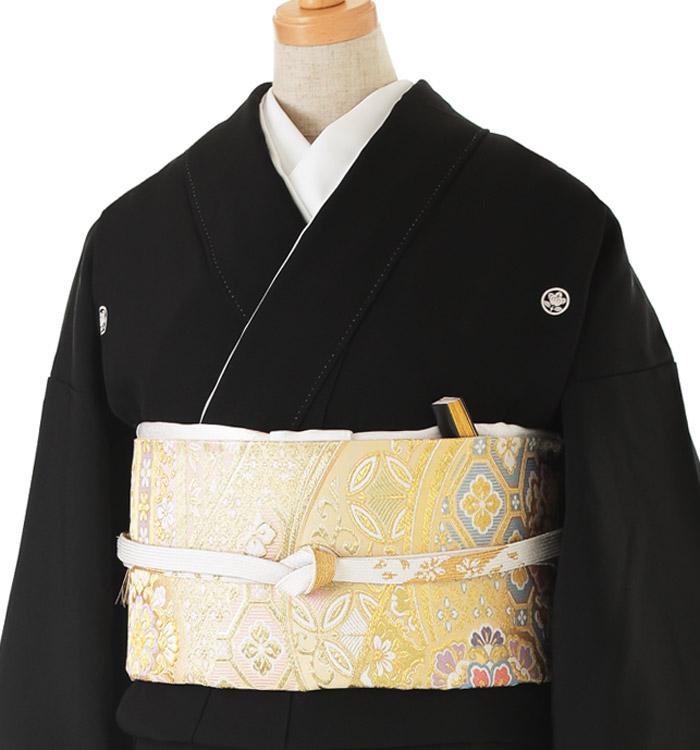 関芳 大きいサイズ 黒留袖 No.CA-0142-LOサイズ_01