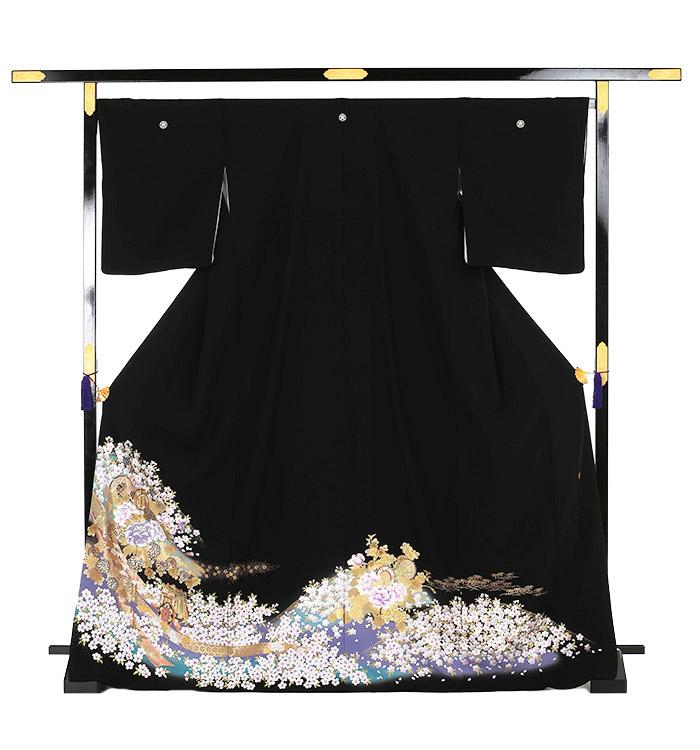 関芳 大きいサイズ 黒留袖 No.CA-0143-MOサイズ_03