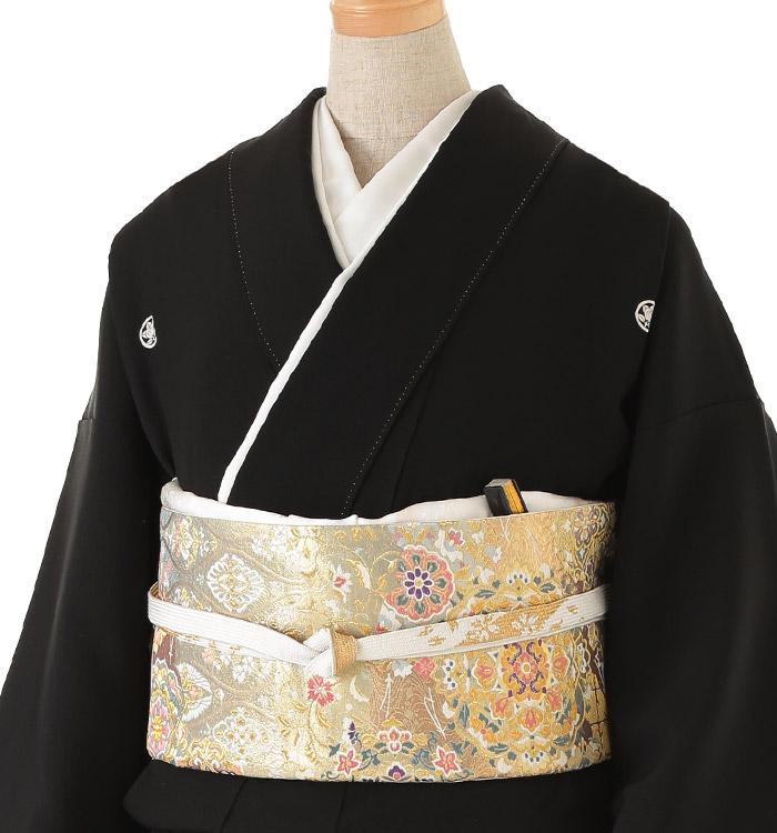 関芳 大きいサイズ 黒留袖 No.CA-0143-MOサイズ_01