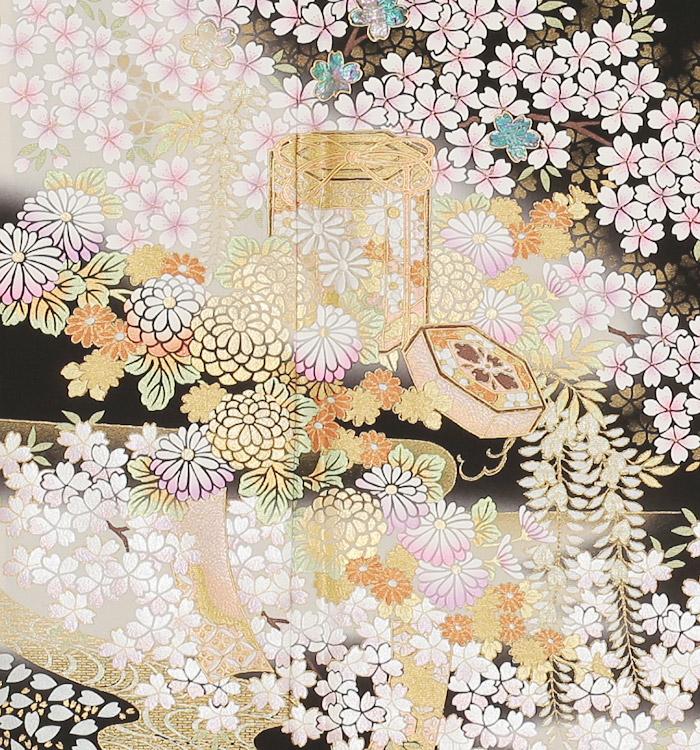 関芳 大きいサイズ 黒留袖 No.CA-0145-MOサイズ_05