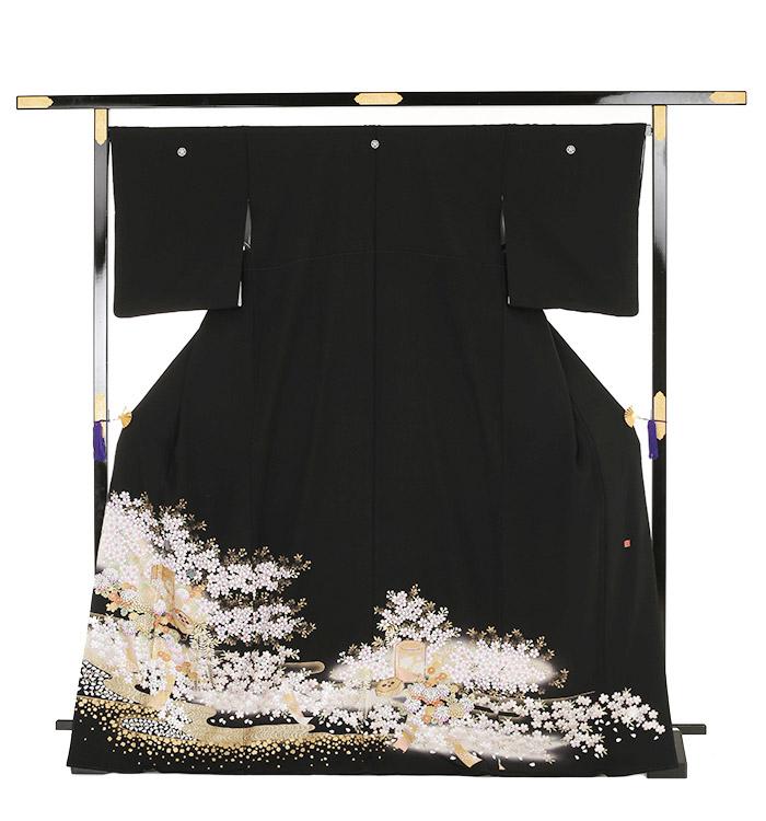 関芳 大きいサイズ 黒留袖 No.CA-0145-MOサイズ_03