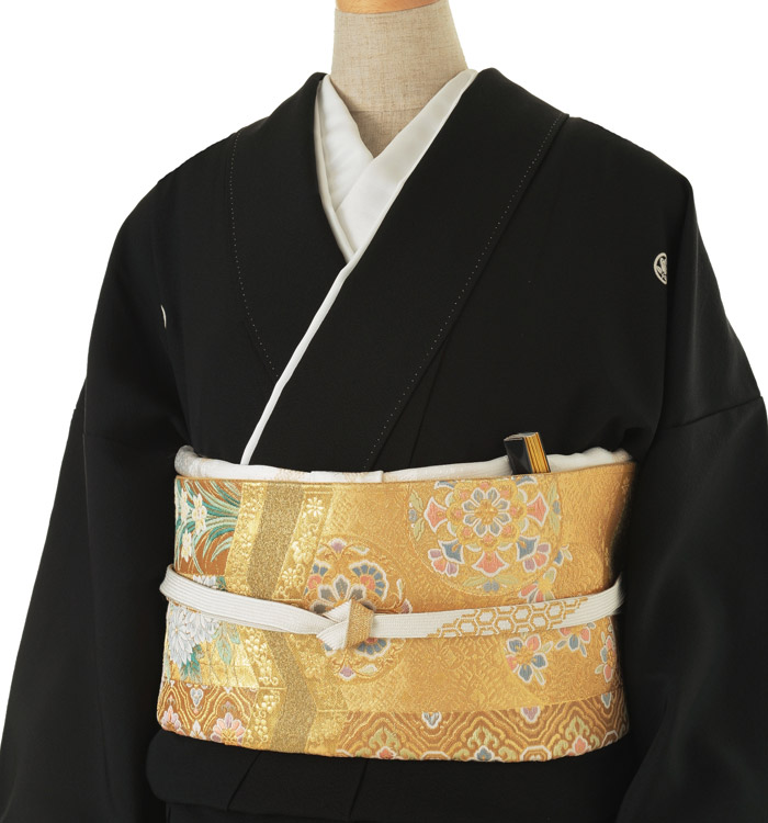 関芳 大きいサイズ 黒留袖 No.CA-0146-LOサイズ_01