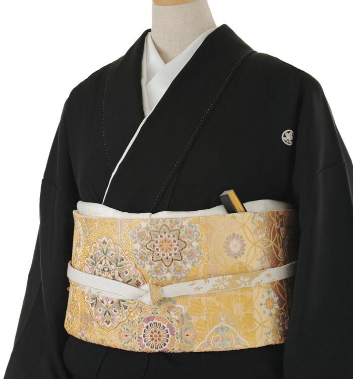 関芳 大きいサイズ 黒留袖 No.CA-0148-LOサイズ_01