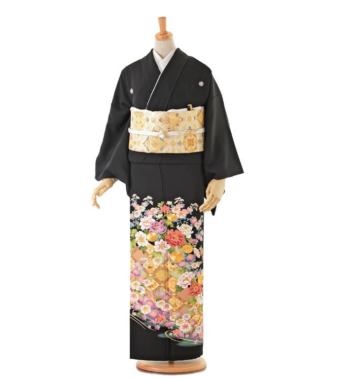大きいサイズ 黒留袖 No.CA-0153-MOサイズ