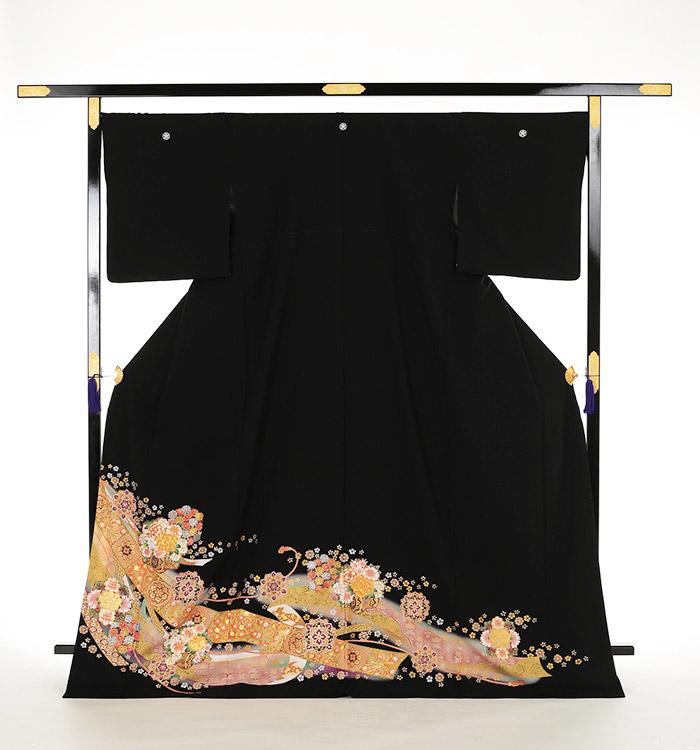 大きいサイズ 黒留袖 No.CA-0154-LOサイズ_03