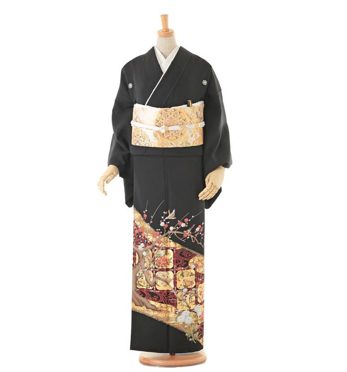 大きいサイズ 黒留袖 No.CA-0155-MOサイズ