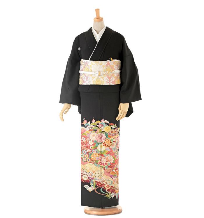 大きいサイズ 黒留袖 No.CA-0156-LOサイズ