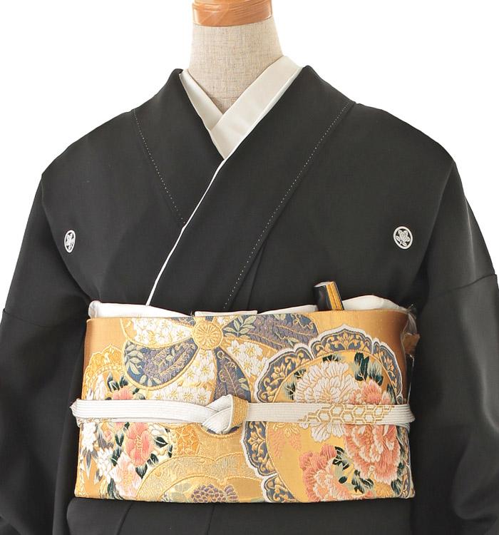 大きいサイズ 黒留袖 No.CA-0157-MOサイズ_01