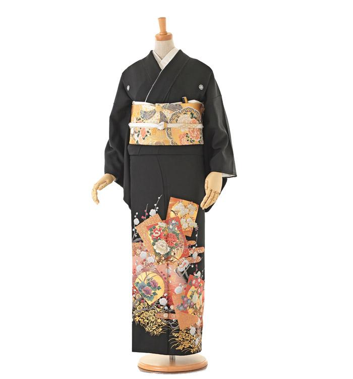 大きいサイズ 黒留袖 No.CA-0157-MOサイズ