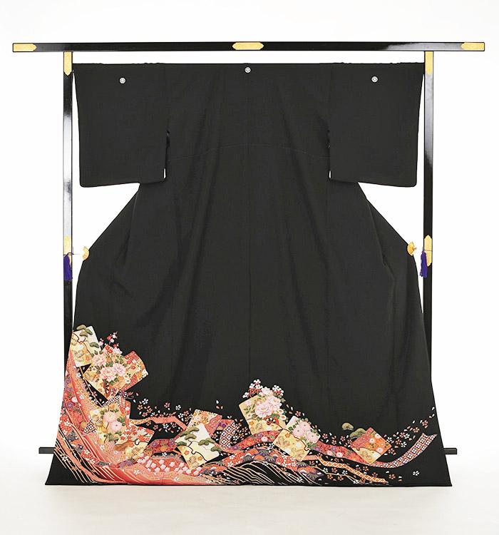 大きいサイズ 黒留袖 No.CA-0158-LOサイズ_03